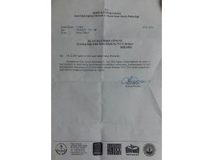 Parası ödenen ve izni alınan salon, kaymakamlık tarafından iptal edildi