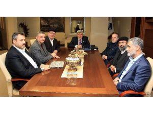 Başkan Karaosmanoğlu STK'ları Kabul Etti