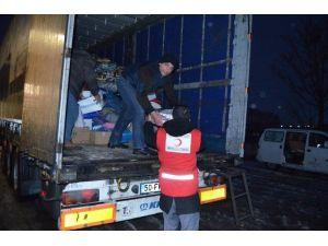 Suriyeli Türkmenlere Yardım Tır'ı