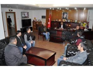 Esnaftan Başkan Turgut'a Ziyaret