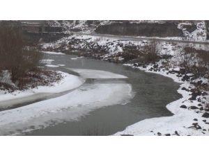 Kars Çayının Buzları Çözüldü