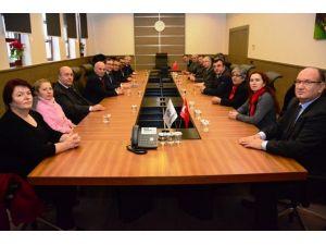 CHP Tekirdağ İl Başkanlığı'ndan Başkan Eşkinat'a İade-i Ziyaret