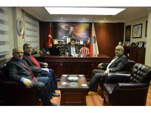 STB Başkanı Hastaoğlu'ndan, İl Emniyet Müdürlüğü'ne Taziye Ziyareti