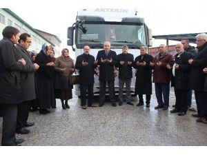 Malatya'dan Bayırbucak Türkmenlerine Yardım