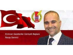 Egc Başkanı Demirci'den 10 Ocak Kutlaması