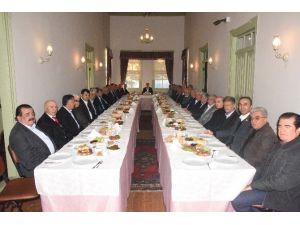 Alanya'nın Eski Belde Başkanları Kahvaltıda Buluştu