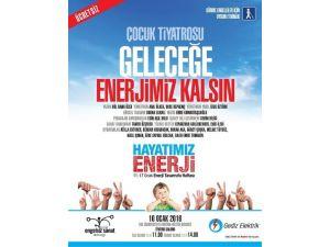 Çocuklar Enerji Tasarrufunu Tiyatro İle Öğrenecek