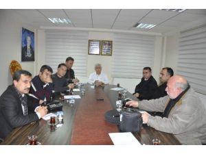 Kahta Kent Konseyi, Yönetim Kurulu Üyeleri İle Bir Araya Geldi