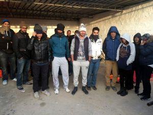 Kuşadası'nda 15 Suriyeli Göçmen Yakalandı