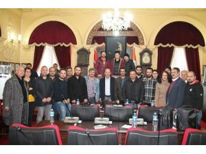 Edirne Belediye Başkanı Gürkan, 10 Ocak Gazeteciler Günü'nü Kutladı