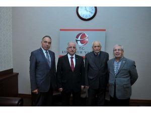 Vali Tuna'ya Seyyit Battalgazi Vakfı'ndan Ziyaret