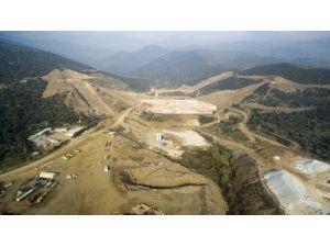 Ödemiş Rahmanlar Barajında İnşaat Seviyesi Yüzde 40'a Ulaştı
