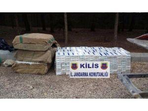 Kilis'te 139 Bin Paket Kaçak Sigara Ele Geçirildi