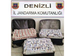 Denizli'de 5 Bin 110 Paket Kaçak Sigara Ele Geçirildi