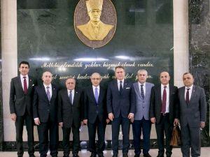 Akib Başkanlarından Başbakan Yardımcısı Elvan'a Ziyaret