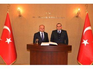 Azerbaycan'ın Ankara Büyükelçisi Bagirov Vali Çakacak'ı Ziyaret Etti