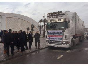 Sakarya'dan Suriye'ye 99. Yardım Tır'ı Gönderildi