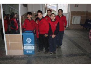 Dinar'da Geri Dönüşüm Projesi Başlatıldı
