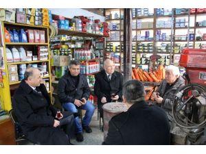 Vali Seyfettin Azizoğlu Sanayi Esnafının Sorunlarını Dinledi