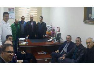 Bandırma AK Parti Yönetiminden Hastaneye Ziyaret
