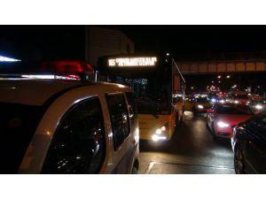 Yol kavgasında İETT otobüsüne silahlı saldırı