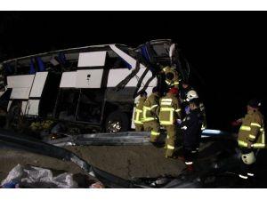 Mülteci Otobüsü Kazasında Yaralı Sayısı 42'ye Ulaştı