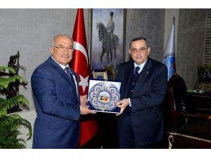 Azerbaycan Büyükelçisi Bagirov'dan Başkan Kocamaz'a Ziyaret