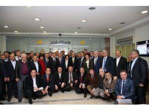 AK Parti Mersin İl Teşkilatından Başbakan Yardımcısı Elvan'a Ziyaret
