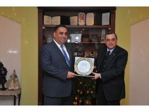 Azerbaycan Büyükelçisi Tarsus'ta