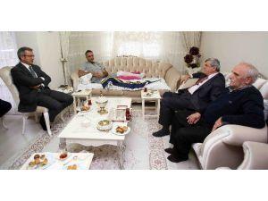 Başkan Karaosmanoğlu'ndan, Kaflı Ve Soba'ya Ziyaret