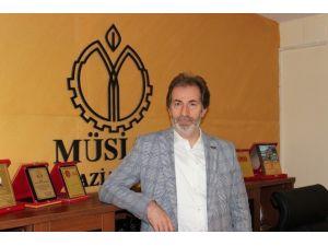 MÜSİAD Gaziantep Şube Başkanı Mehmet Çelenk'ten 10 Ocak Çalışan Gazeteciler Günü Kutlaması
