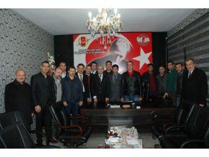 Vali Demirtaş'tan Basın Çalışanlarına Ziyaret