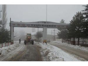 Burdur'da Karla Mücadele