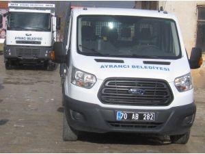 Ayrancı Belediyesi Araç Parkına Takviye Yaptı