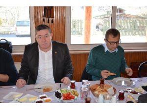 Alaplı Belediye Başkanı Nuri Tekin Basın Mensuplarıyla Bir Araya Geldi