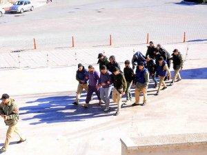 'Albatros Harekatı'nda gözaltına alınan 9 şüpheli adliyeye getirildi