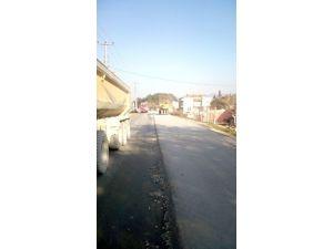 Büyükşehir'den NATO Caddesine Asfaltlama Çalışması