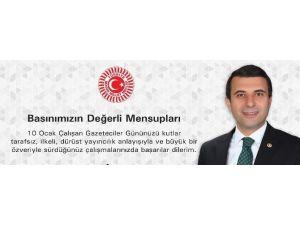 Kırşehir Protokolü Çalışan Gazeteciler Günü İçin Mesaj Yayımladı
