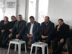 Müftüden Drej Ali Lakaplı Ali Yasak'ın Ailesine Taziye Ziyareti