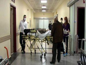 Kayseri'de Bir Kadın Domuz Gribi Şüphesiyle Hastaneye Kaldırıldı