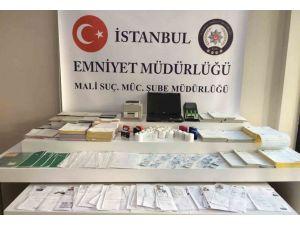 İstanbul'da sahtecilik operasyonu