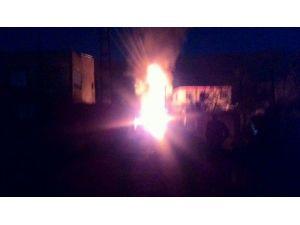 Silvan'da Trafo Yangını