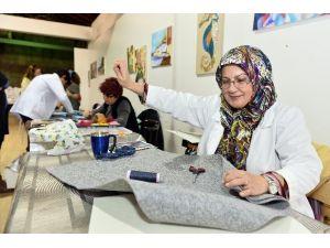 Muratpaşa'da Keçe Sanatına Yoğun İlgi
