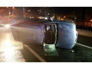 Başkent'te Trafik Kazaları: 4 Yaralı