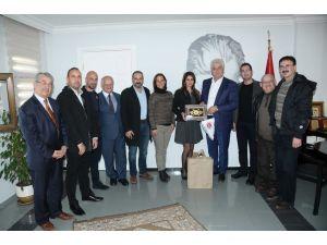 KKTC heyeti Çeşme'ye hayran kaldı