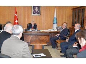 """Rektör Ulcay: """"Bursa OSB'de Kurulacak Meslek Yüksekokulu Öğrencileri Sektöre Hazırlar"""""""