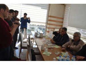 Başkan Özgüven, Gazetecilerle Bir Araya Geldi