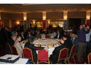 Başkan Gümrükçüoğlu Gazetecileri Ağırladı