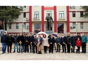 Aydın'da Çalışan Gazeteciler Günlerini Kutladı
