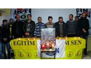 Hakkari KESK Ankara'daki Katliamı Kınadı